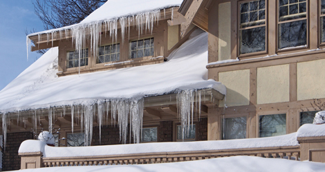 Steps To Be Taken When Winter Storm Damages Your Roof